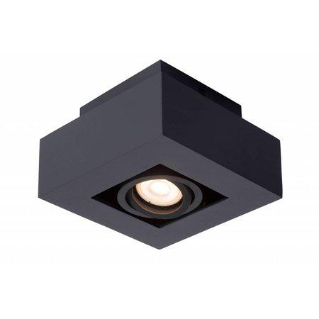 LED opbouw spot wit-zwart 5W dim-to-warm