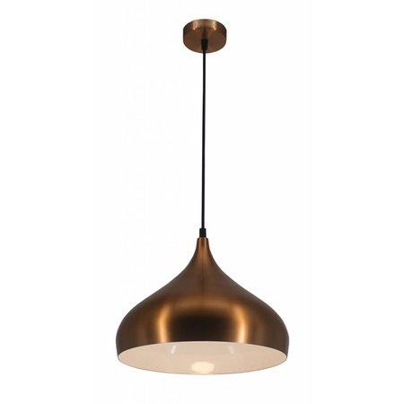 Luminaire goutte cuivre, noir ou brun