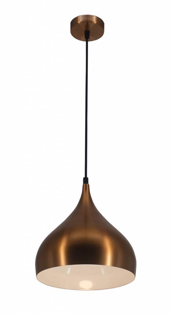 Extreem Sfeervolle hanglamp druppel zwart, koper, bruin | Myplanetled IB11