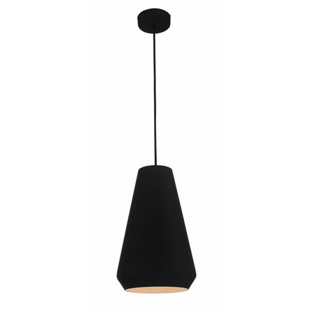 Contemporary pendant lamp black or white