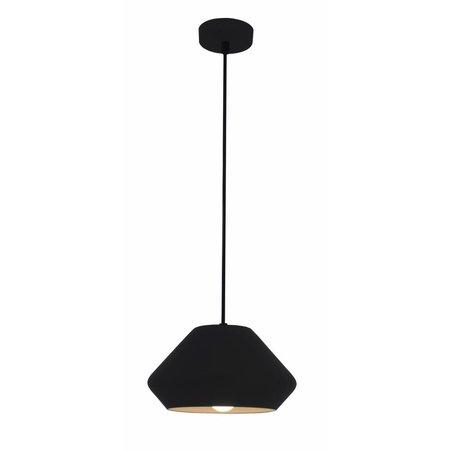 Lampe conique noir ou blanc 240mm