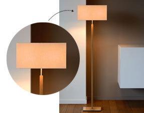 Moderne staande lampen