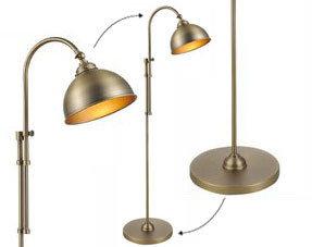 Lampadaires bronze