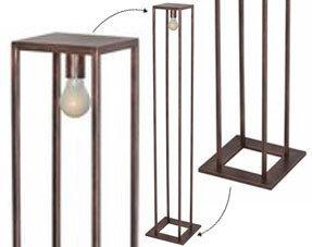Lampadaires cuivre