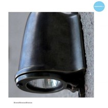 Outdoor wall light rural bronze-chrome-nickel GU10 130mm