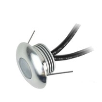 Miniature downlight LED 1W IP67 dimmable 40mm Ø