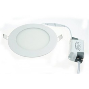 Dalle LED ronde 9W encastrable 149mm diamètre blanche