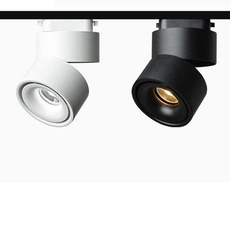 Lumière rail design noir ou blanc 9W