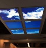 LED skylight 120x120cm (2x 60x120cm, 2x60W)