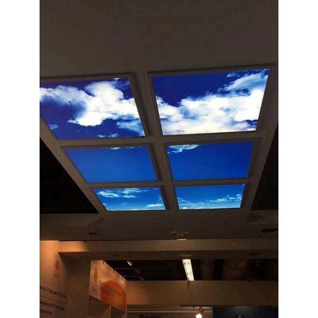 Wolkenplafond 120x120cm (2x 60x120cm, 2x60W)