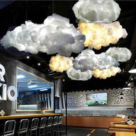 Cloud lamp E27 40x24cm