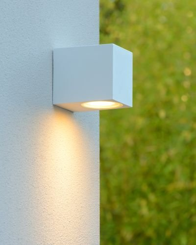 Bekend Strakke wandlamp buiten down met spotje | Myplanetled XB43
