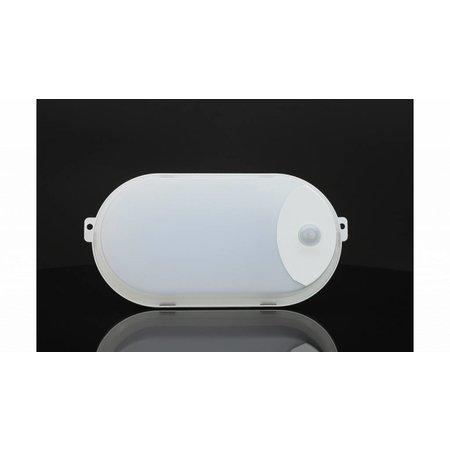 Buitenverlichting met bewegingssensor IP65 LED wit 7W