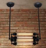 Lampe industrielle 550mm 4 ampoules