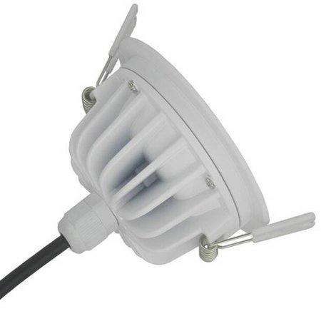 Spot encastrable 190mm 25W LED salle de bain dimmable