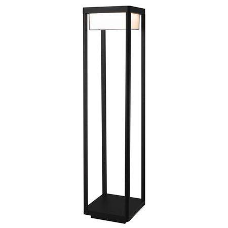 Lampe de terrasse LED 9 W noir 80 cm