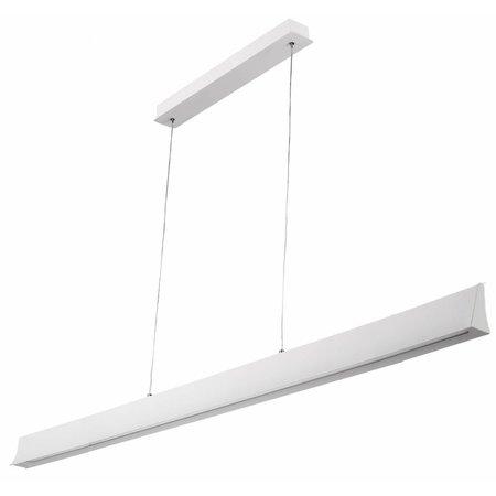 Desk pendant light LED 36 W white or black 1800 mm