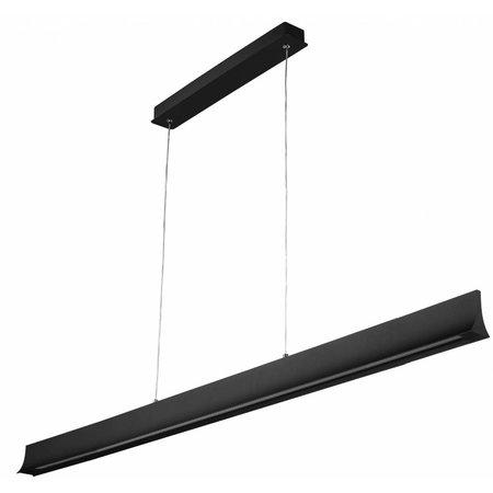 Eclairage de bureau LED 36 W blanc ou noir 1800 mm
