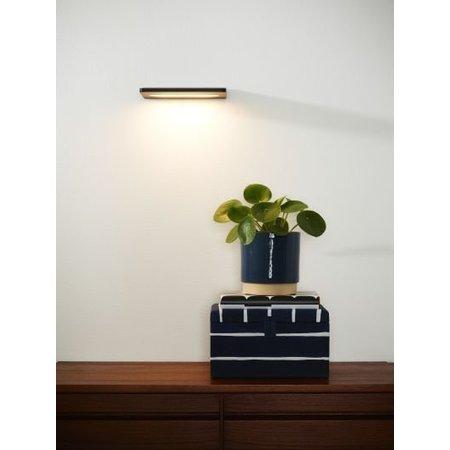Applique murale plate LED 8 W noir ou blanc