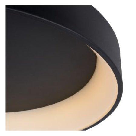 Grand plafonnier LED Ø 80 cm blanc ou noir