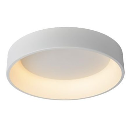 Grote plafonniere LED 42W Ø 60 cm wit of zwart