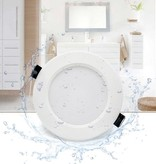 100mm cut out downlight IP65 15W LED 35mm  high