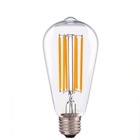 Long filament LED lamp 6W