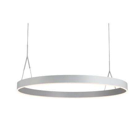 Ring pendant light LED Ø 910mm black, white, brown