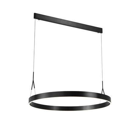 Hanglamp met ring Ø 910mm LED zwart, wit, bruin