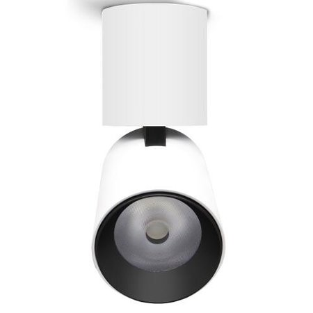 Plafonnier cylindre 7W LED noir ou blanc dimmable