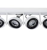 Rampe spots (4) dim to warm noir ou blanc