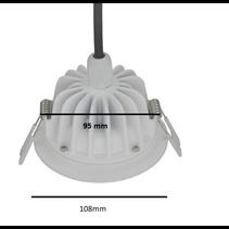 Spot salle de bain 15W LED trou 95mm