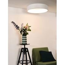 Circle ceiling light LED 42W Ø 60 cm white or black