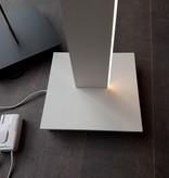 Staande lamp LED wit, zwart 32W 1800mm design dimbaar