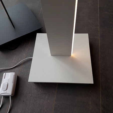 Floor lamp LED white, black 32W 1800mm design dimmable
