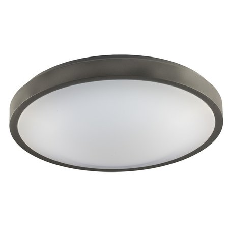 Ceiling lamp black, white or gray CCT 30 cm and 9 cm high 12W 960Lm CCT