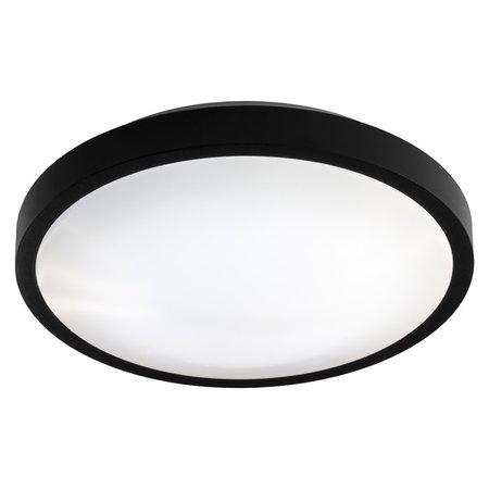 Plafonnier noir, blanc ou gris CCT 30 cm et 9 cm de hauteur 12W 960Lm CCT