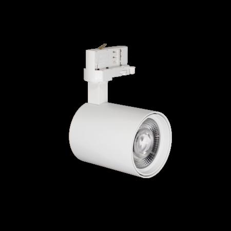 Rail lighting adjustable white or black LED 15W Citizen design 76mm Ø