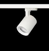 Rail lighting adjustable white or black LED 20W Citizen design 76mm Ø