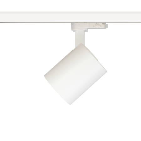 Railverlichting richtbaar wit of zwart LED 20W Citizen design 85mm Ø