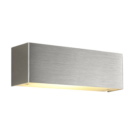 Wall light LED white, aluminum or black 10W dimmable R7S included