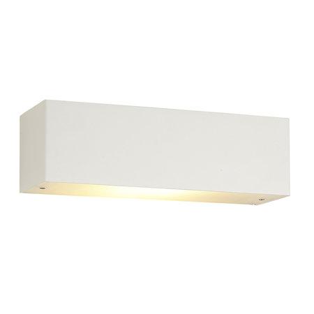 Wandlamp LED wit, aluminium of zwart 10W dimbaar R7S inclusief