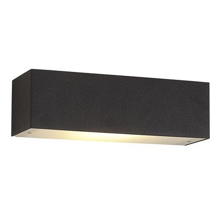 Applique murale LED blanc, aluminium ou noir 10W dimmable R7S inclus