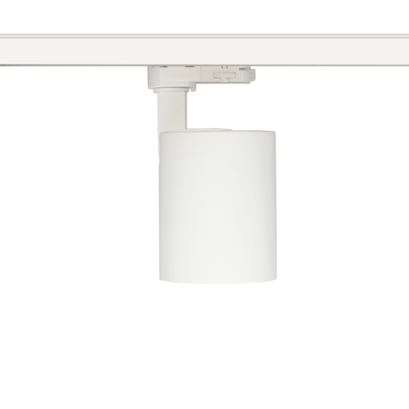 Rail lighting adjustable white or black LED 25W Citizen design 95mm Ø