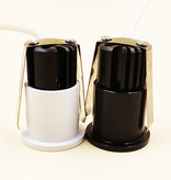 Mini spot led encastrable intérieur 3W 35 mm Ø blanc ou noir