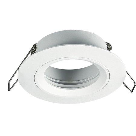 Inbouwspot GU10 zonder lamp rond wit, grijs of zwart niet richtbaar