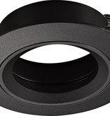 GU10 recessed spot without lamp round white, grey or black not turnable