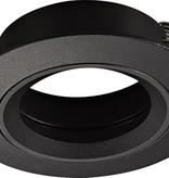 Spot encastrable GU10 sans lampe rond blanc, gris ou noir non tournable