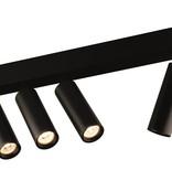 Plafonnier LED design module orientable noir ou blanc 4x4W 360 lumen