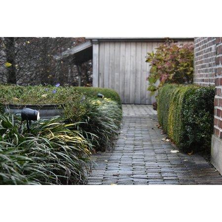 Landelijke Authentage tuinspot met GU10 brons-chroom-geborsteld nikkel 90cm